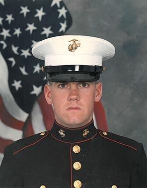 John in the Marines