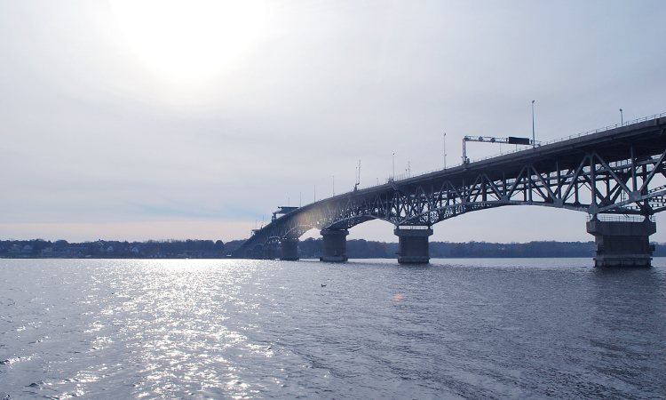 George P. Coleman Bridge between Yorktown and Gloucester Point